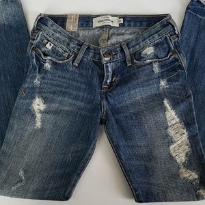 Abercrombie Distressed Maddy Jeans